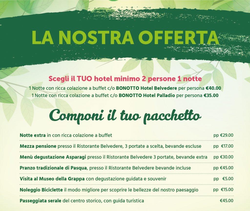 Hotel Bonotto - Promo Aprile 2017