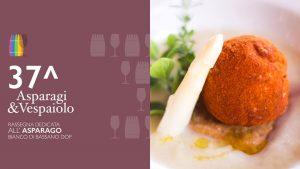 Asparagi&Vespaiolo a Bassano - Piatto con asparago