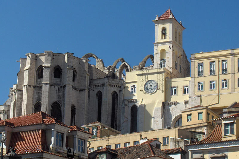 Ruinas do Convento do Carmo