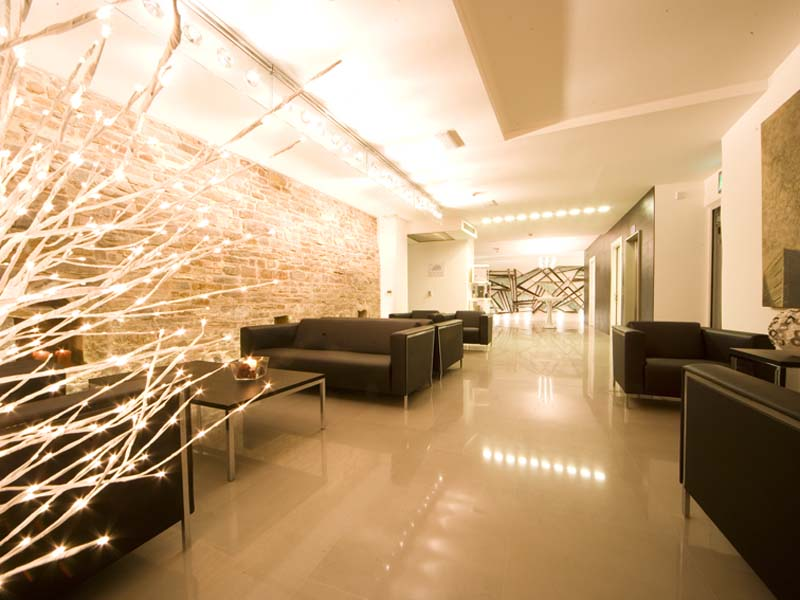 Photogallery trieste hotel urban hotel design in the for Design hotel urban