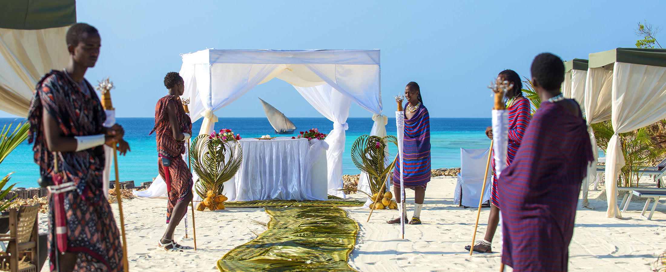 Matrimonio Bed Ocean : Weddings the indian ocean hotel diamonds hotels resorts