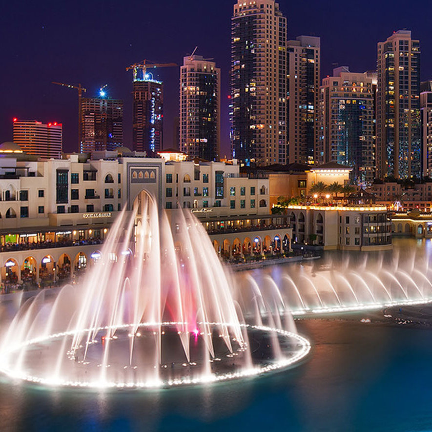 The Dubai Fountain Dubai Hotel Central Hotels Near Dubai