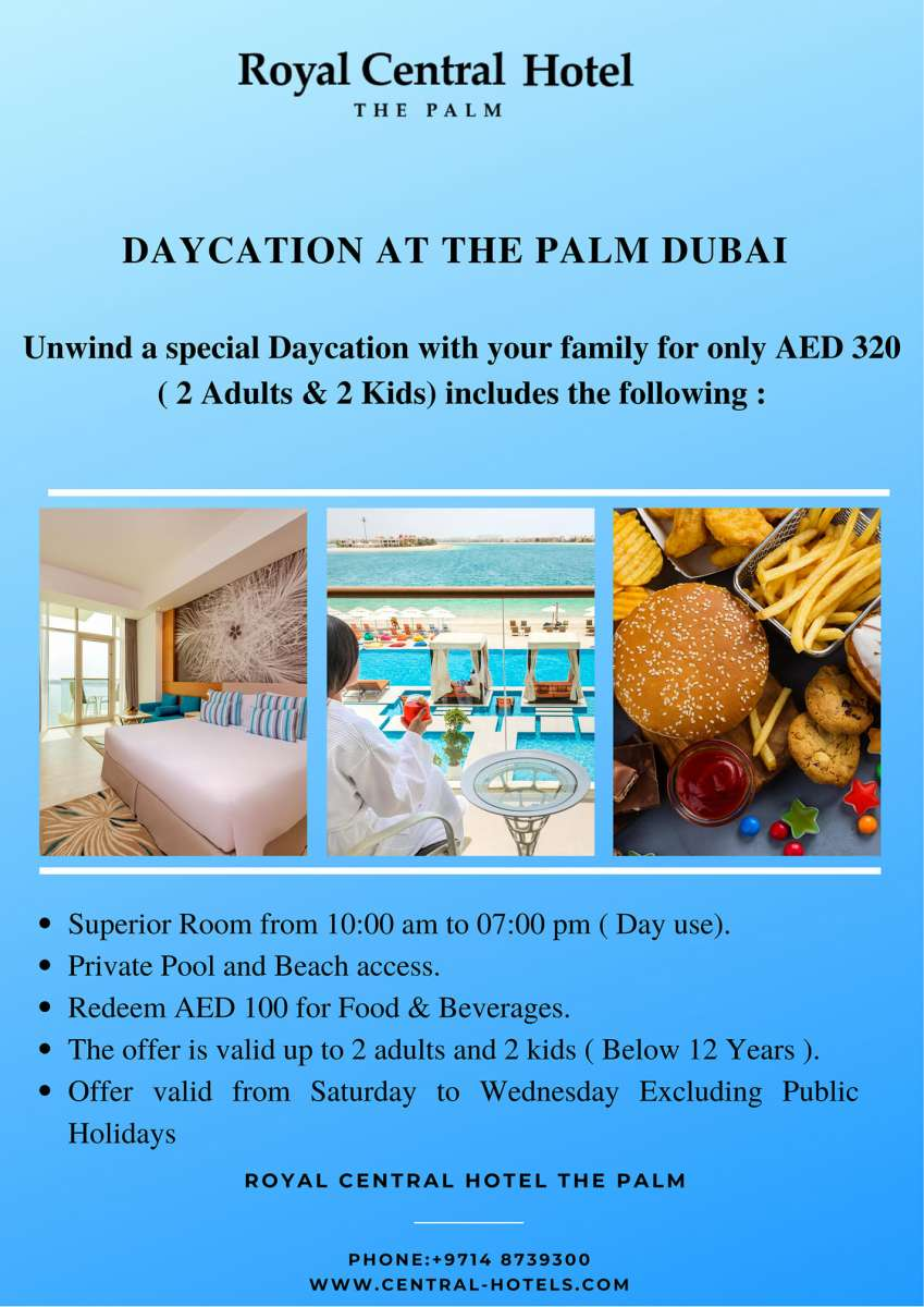 Daycation at The Palm Dubai