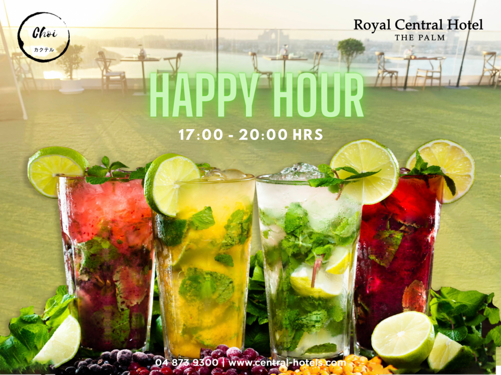 Happy Hour in Royal Central The Palm