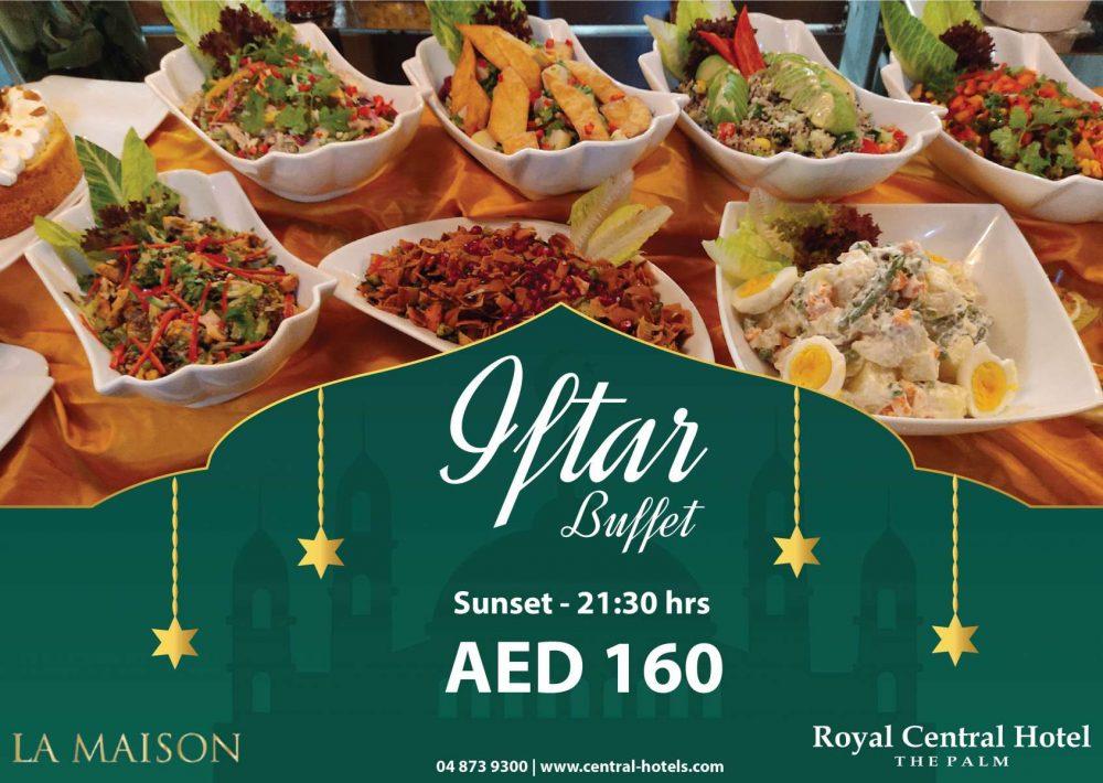 Ramadan Iftar Royal Central The Palm