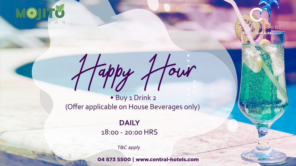 Happy Hour at C Central Resort