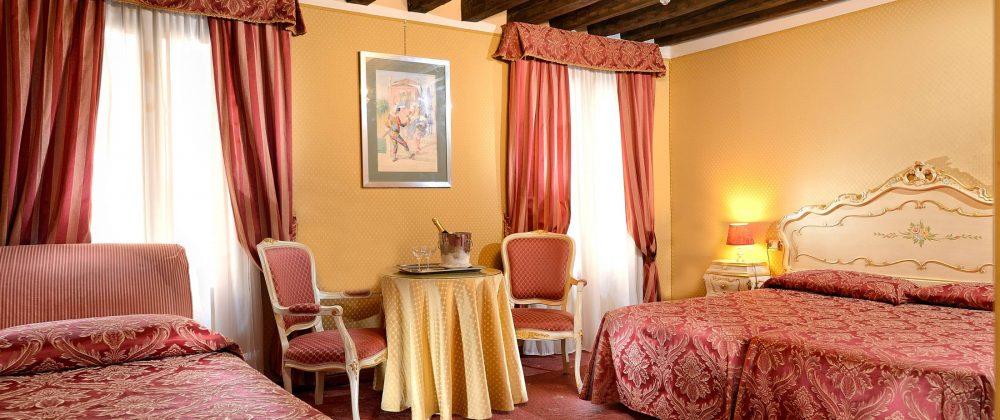 Zimmer Hotel Venedig - Hotel Ambassador Nahe dem Markusplatz