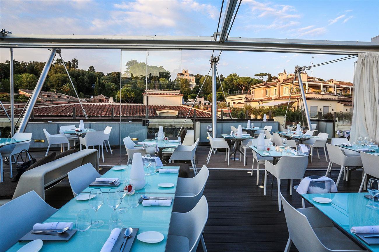 Ristoranti & Club - Hi-Res Hotel Roma - Hotel Valadier al centro di Roma