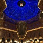 La Galleria Vittorio Emanuele vestita a festa per il Capodanno a Milano