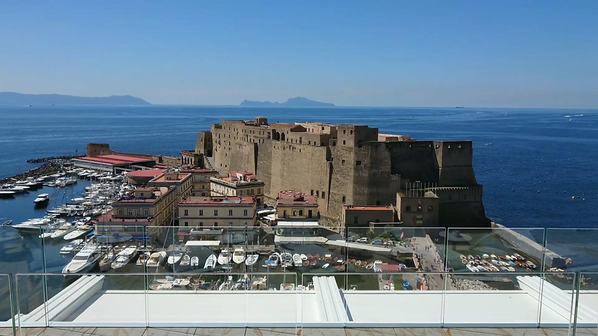 Sky Lounge Naples Hotel Grand Hotel Vesuvio In The Center