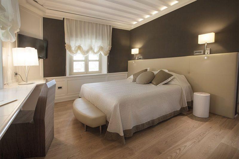 Camere camera matrimoniale deluxe con accesso spa hotel for Camera matrimoniale design