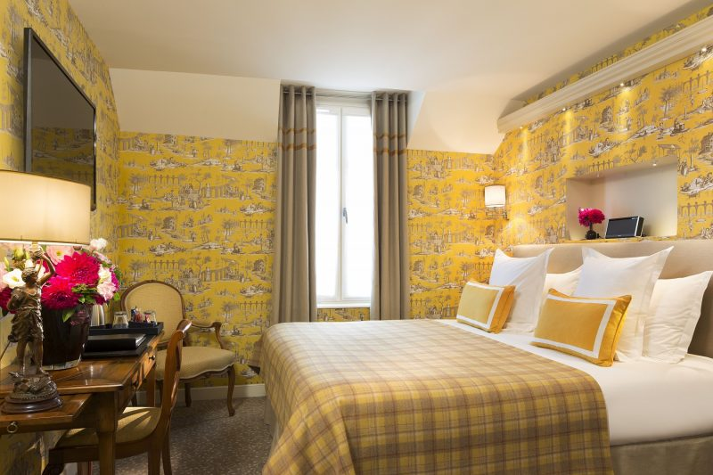 Chambres - Chambre Double Classique Hotel Paris - Relais des Halles ...