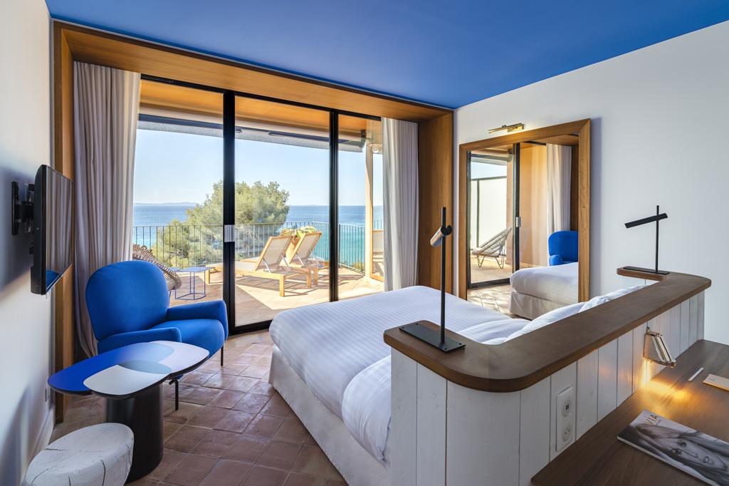 Hôtel Golfe Saint-Tropez Bailli de Suffren Chambres rénovées