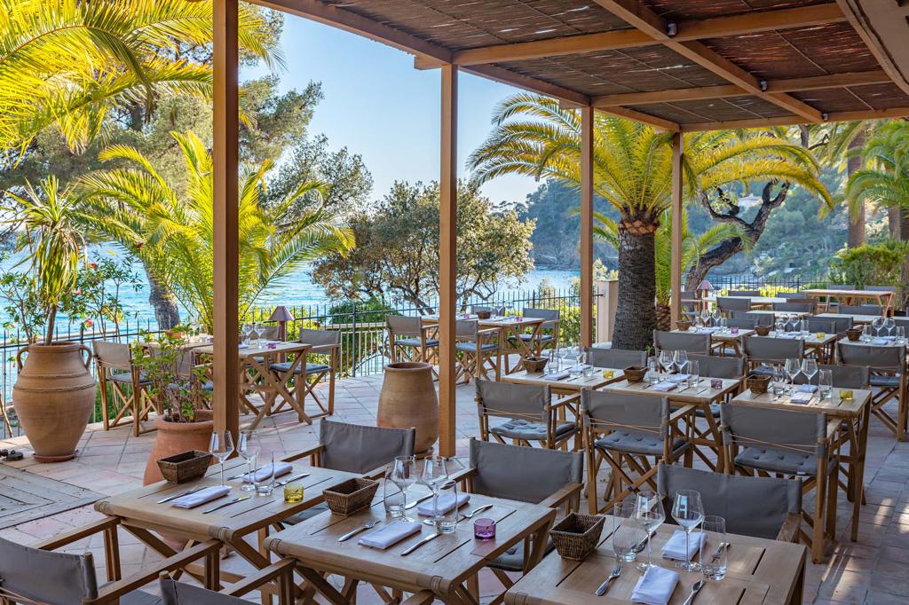 Hôtel Le Bailli de Suffren Rayol Canadel Restaurant Le Loup de Mer