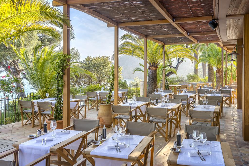 Restaurant Le Loup de Mer hôtel Le Bailli de Suffren