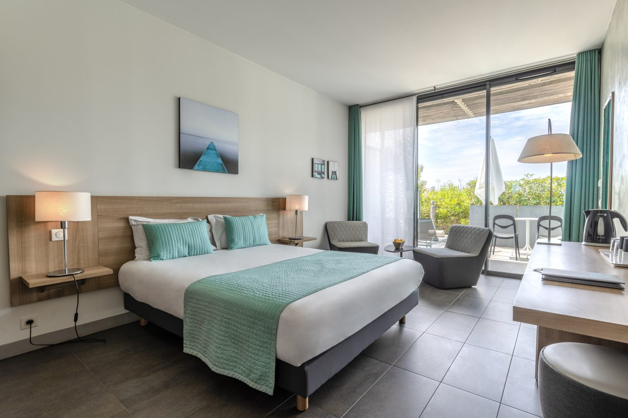 Les chambres - Chambre vue jardin Hotel Rayol-Canadel sur ...