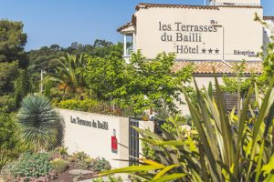 Hôtel piscine rayol canadel Les Terrasses du Bailli