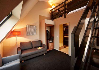 Duplex rooms