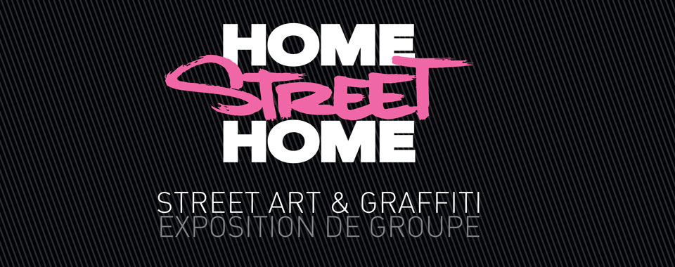 Street Art Valence - Home Street Home