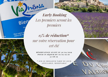 """Summer Early Booking"" offer"