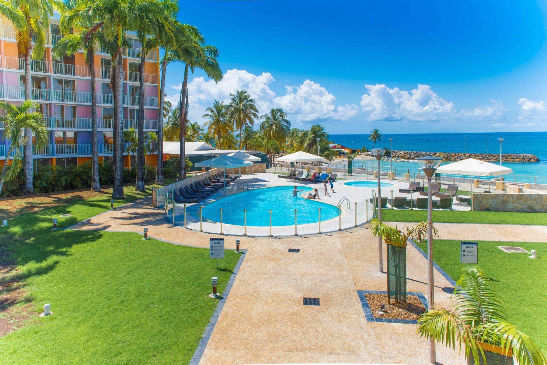Karibea Beach Resort Hotels Au Gosier En Guadeloupe Hotels Karibea