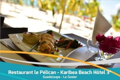 Karibea Beach Hotel Gosier restaurant le Pelican
