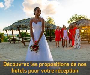 Reception Mariage Karibea Hotels