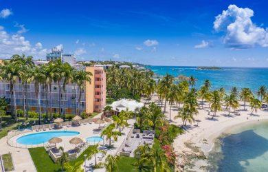 Karibea Beach Hotel Gosier vue aerienne