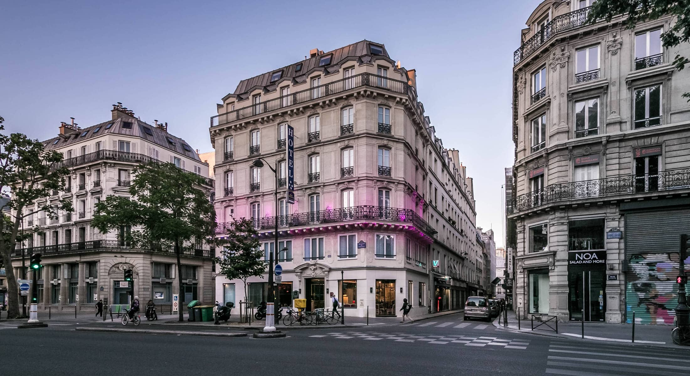 Le quartier best western marais grands boulevards for Hotel marais paris