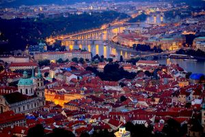 Prague-by-night