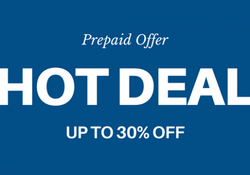 OFERTA HOT DEAL – HASTA UN -30%