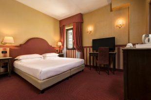 Hotel Tritone Venezia Mestre - Camera Classic french Bed_1