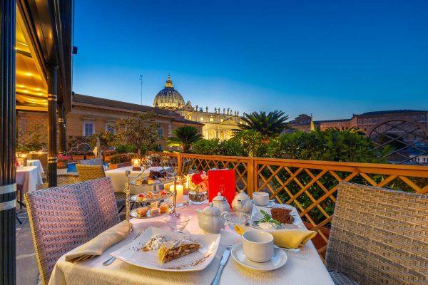 Terrace Rome Hotel Residenza Paolo Vi In Piazza San Pietro