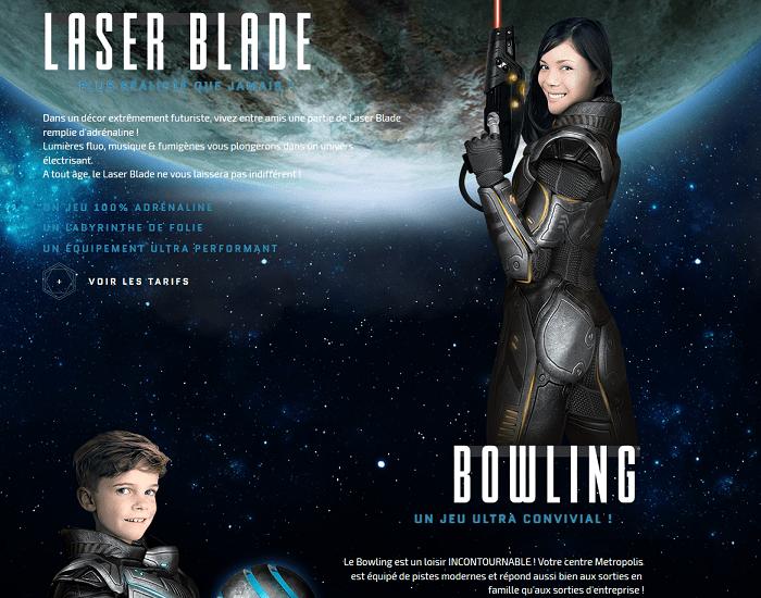 Metropolis Laser Bowling