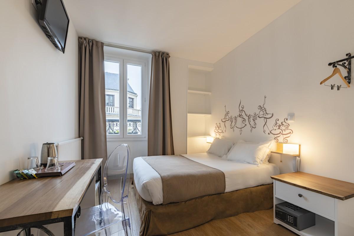 Les Chambres - Chambre Double ou Lits Jumeaux Hotel Paris - Korner Opéra