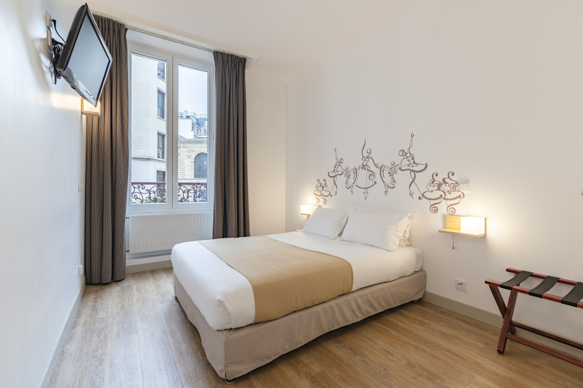 Salle De Bain Famille les chambres - chambre famille hotel paris - korner opéra