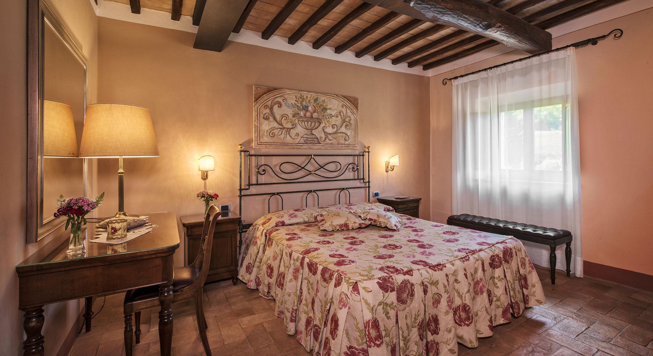 Camere hotel bagno vignoni hotel relais osteria dell 39 orcia vicino a siena in toscana - Osteria del leone bagno vignoni si ...
