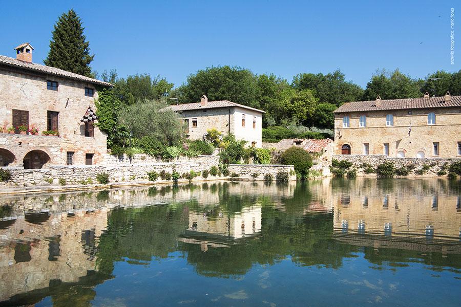 Location - Val d\'Orcia Bagno Vignoni Hotel - Hotel Relais Osteria ...
