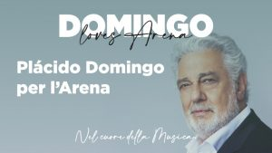 Placido Domingo per l'Arena