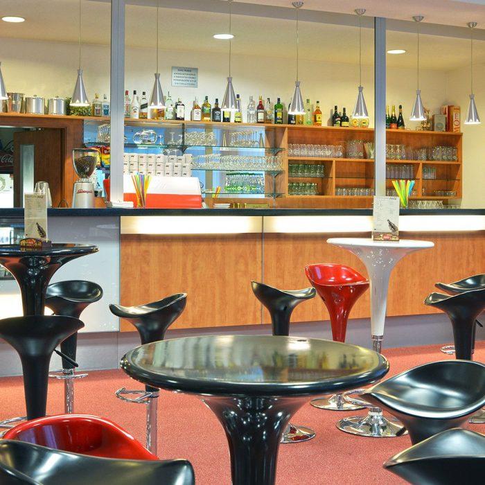 Foyer with café-bar