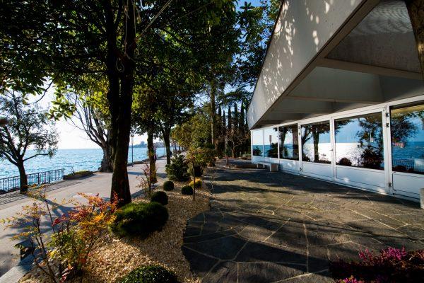 Terrasse privative de la salle Piccard Eurotel Hotel Montreux