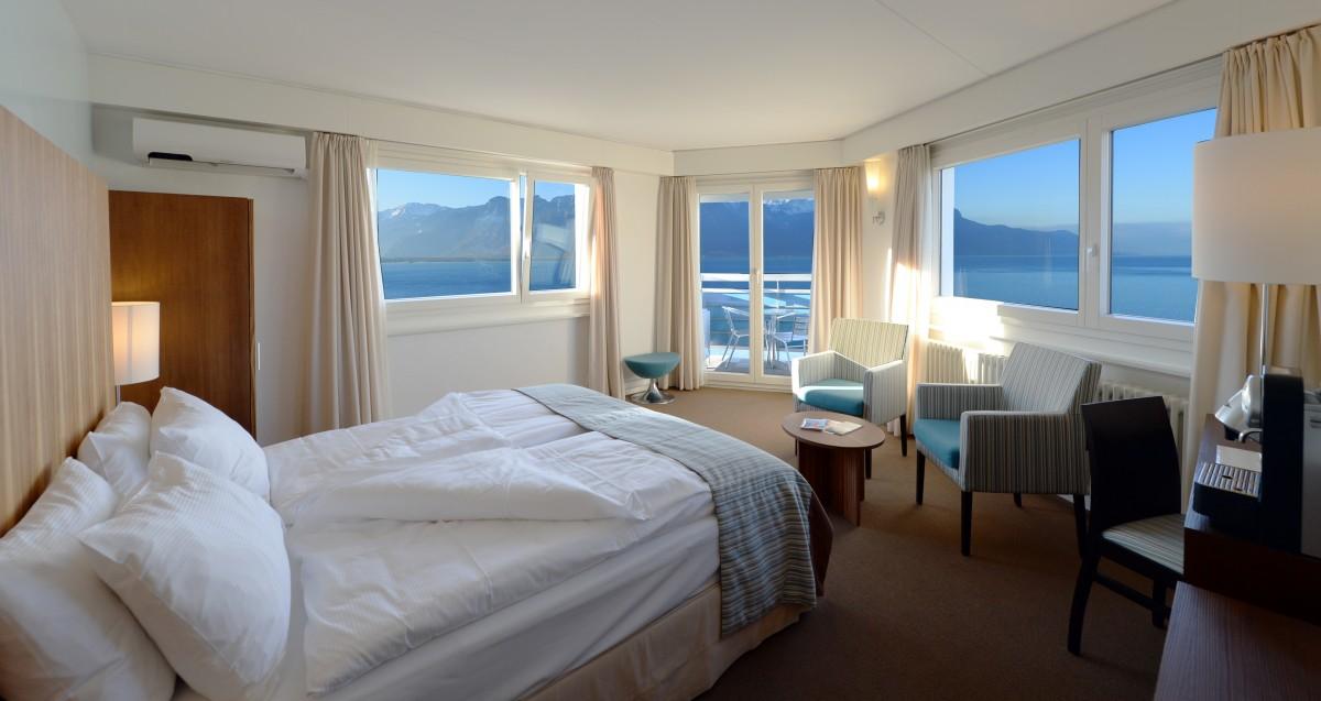 Deluxe-Zimmer, alle notwendigen Komfort für einen angenehmen Aufenthalt