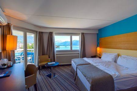 Dormir- chambre classique-Eurotel Hotel Montreux
