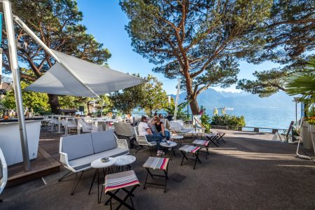 Purple Fish lounge Bar - Eurotel Hotel Montreux