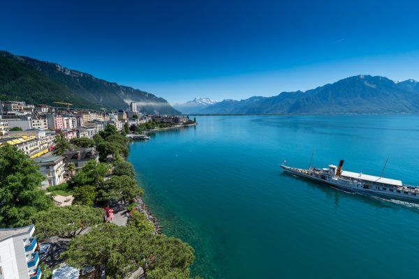Purple Fish lounge Bar -Eurotel Hotel Montreux