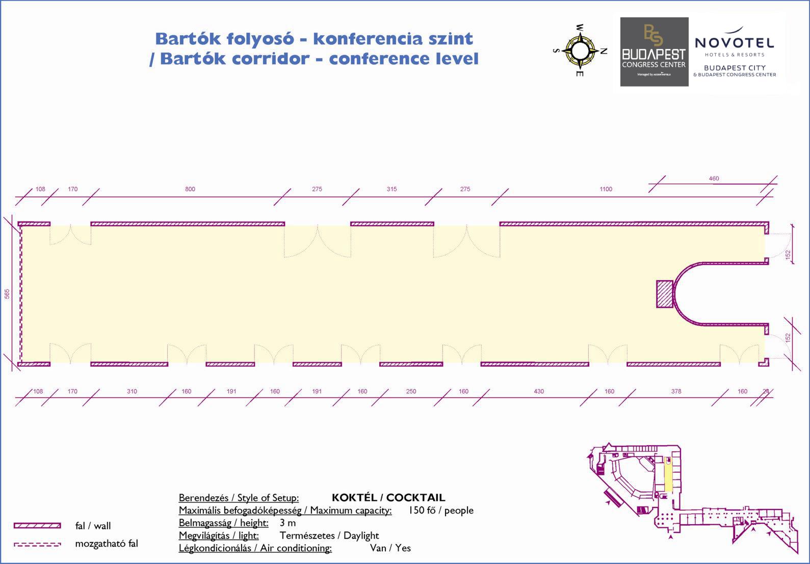 Bartók Corridor