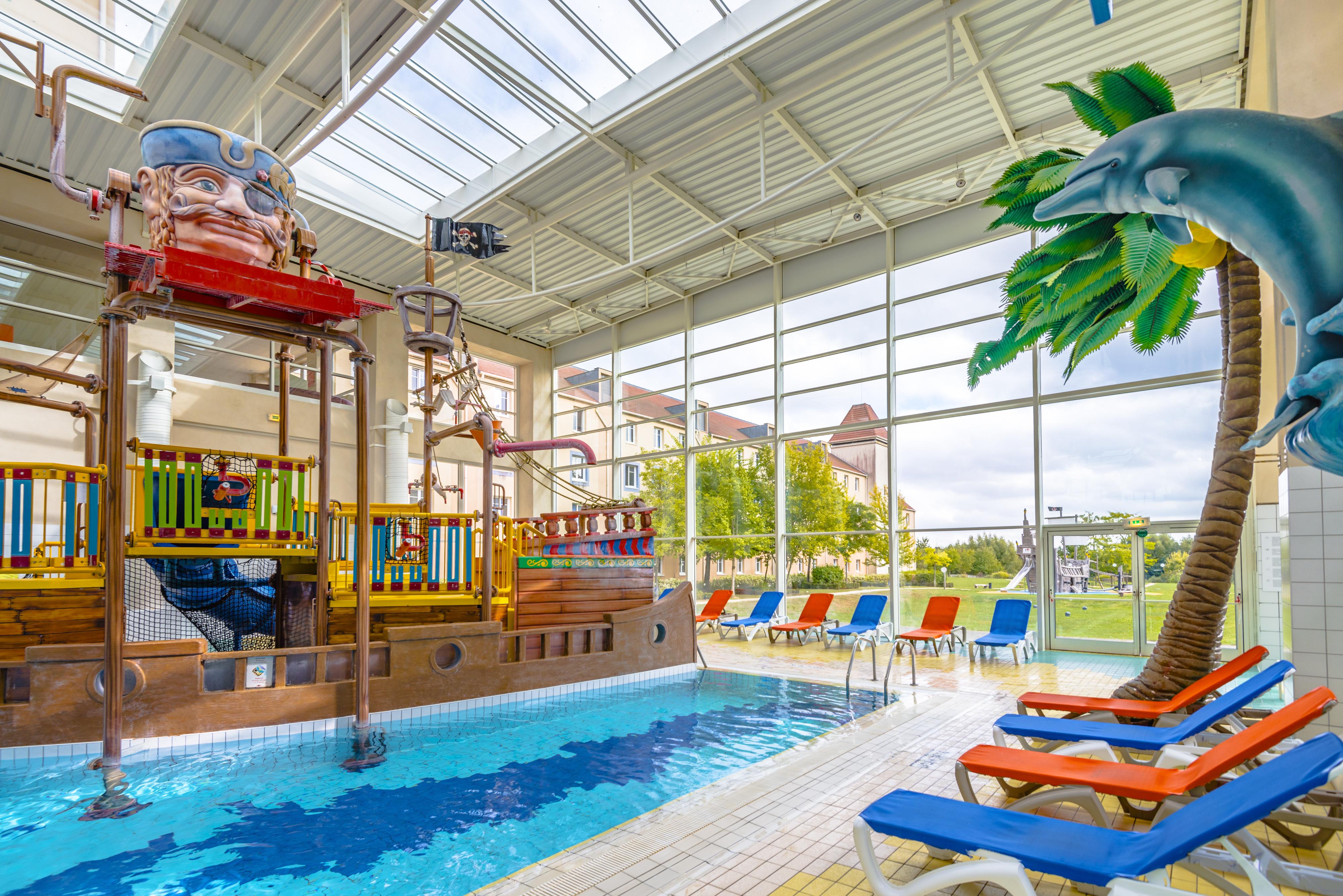 The Secret Lagon... Le parc aquatique de notre hôtel familial !