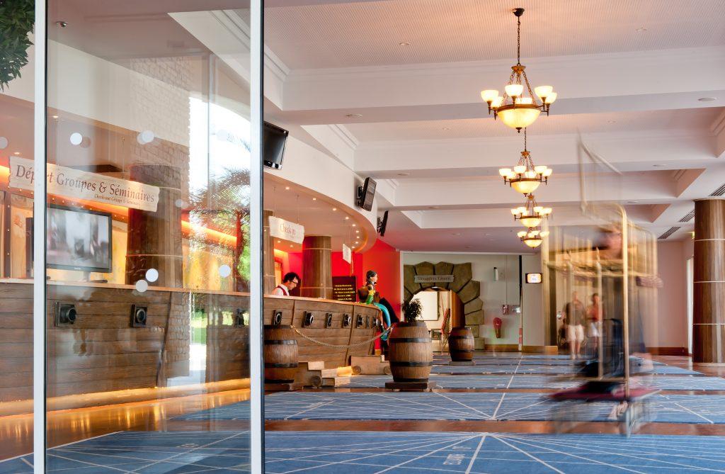 Réception Hôtel Explorers