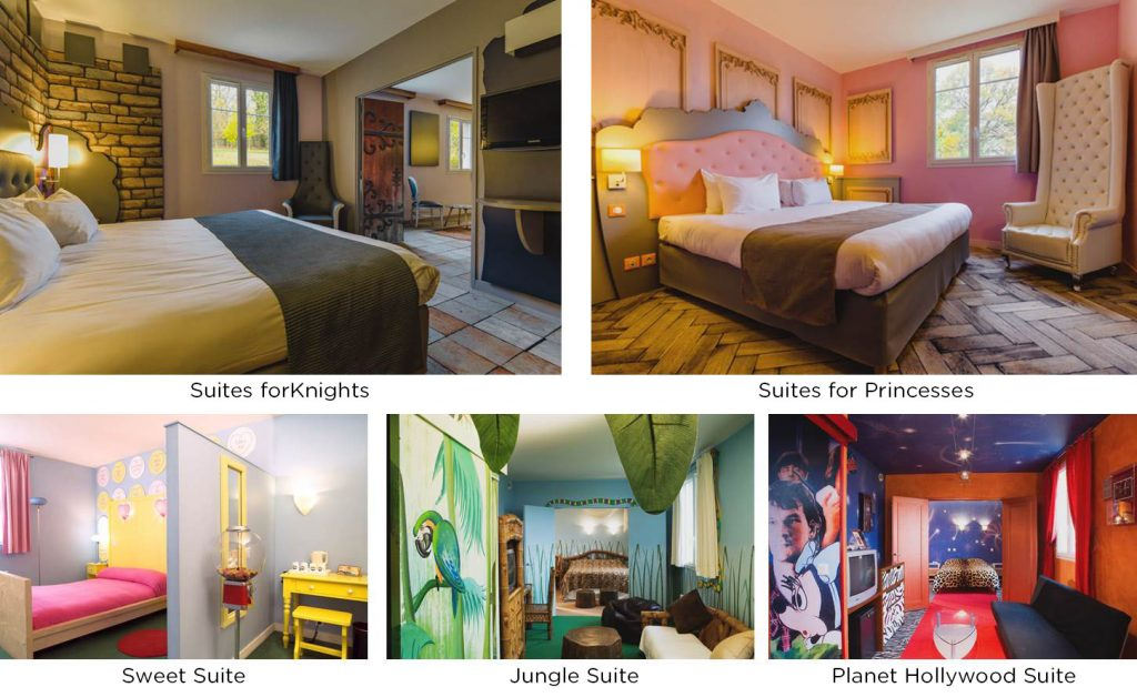 Our themed suites - Explorers Hotel