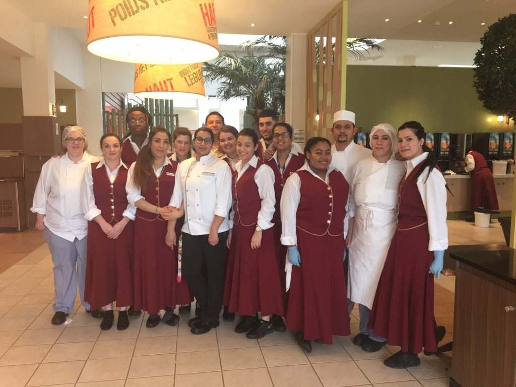 Staff restaurants